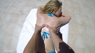 Indulging Alexa at the Pool