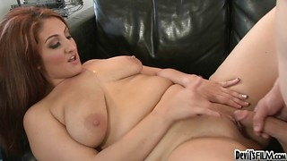 Exciting pussy licking and racy poundings