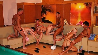 HD orgy movies will shock you with its pussy and cock flooding!