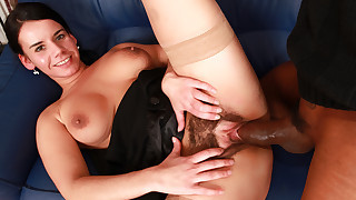Watch Winnie getting fucked in this interracial hot scene !