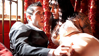 Sexy Nasty MILF Playing With Her Boy's Good Hard Dick On Cam