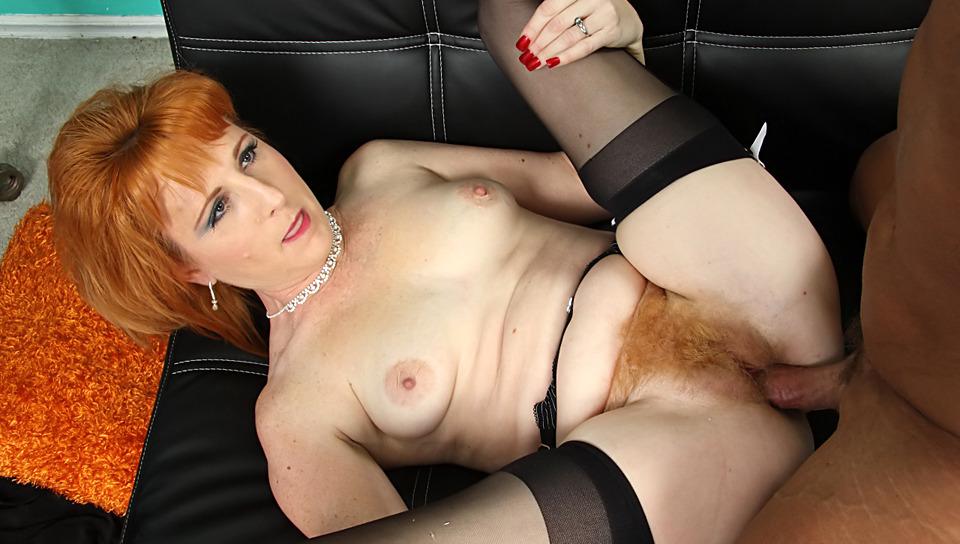 Red Head Girl Masturbating