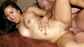 Great Asian babes are welcoming hard cocks to fuck their tight pussies