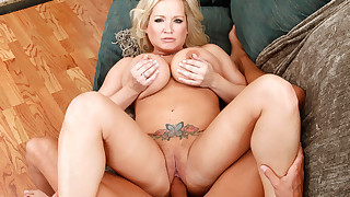 Sexy MILF Rachel Love fucks her husband