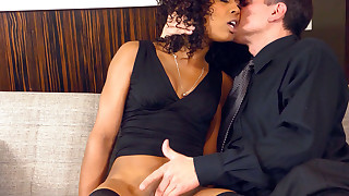 Great ebony babes fucked in their black pussy