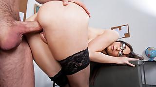 Diana Prince fucks and sucks a hard cock