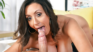 Persia Monir is horny for some big cock in her tight pussy