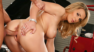 Hot blonde mom Tanya Tate loves to fuck her sons..