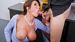 Horny boss, Veronica Avluv  takes care of..