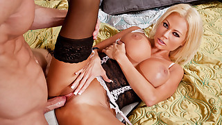 Nikita Von James fucks and sucks a hard dick