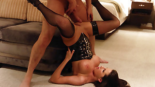 Sexy Kortney Kane gets paid to suck dick and get fucked