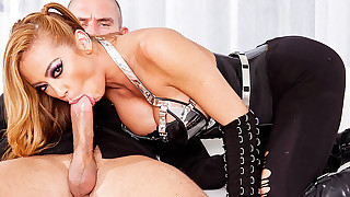 Amazing porn star hottie Mia gets a hard cock deep into her cunt