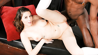 Young & Sweet Nella Will Do Everything For Her Black Daddy!