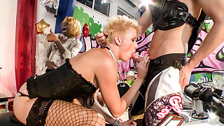 First episode of XXX Fucktory presents two sexy contestant.
