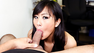 Evelyn, A Sexy Asian Girl Who Only Does Deep..