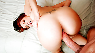 Teen In Her Favorite Position For A POV Fuck!