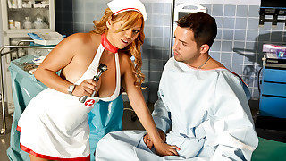 Nurse in HD! As long as she can heal your cock she is wanted!