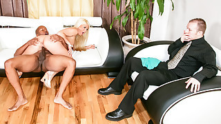 Hot wife needs a good fucking & finds it from a..