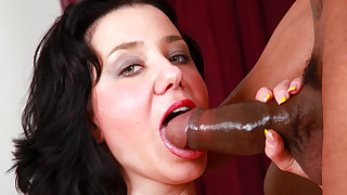 Watch this horny hot girl fucking with a big..