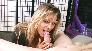Horny Debi Diamond tease and please some cock..