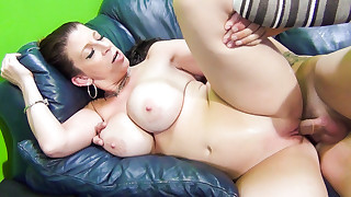 Graceful Sara Jay is having deep fuck from behind