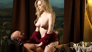 New to babes.com, the beautiful and voluptuous Stacie Jaxxx aims to impress in this sensual..