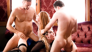 Orgy: Oral Worship X Harsh Domination