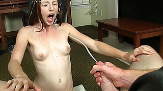 Teen Kali Cumshot at Cum Blast City