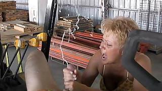 Hot Wife Tracy Cum Blast City