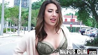 Latina Sex Tapes - Sophia Grace - Public Flashing in the Street